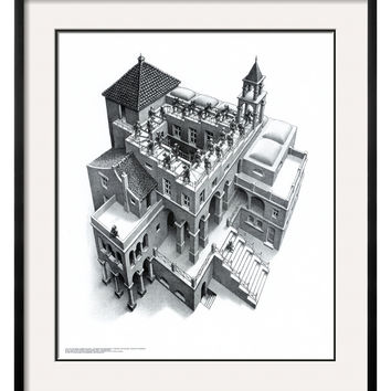 Art.com Ascending and Descending by M. C. Escher (Framed)