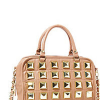 BetseyJohnson.com - STUDIO 54 SATCHEL TAN
