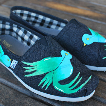 Sparrow TOMS shoes