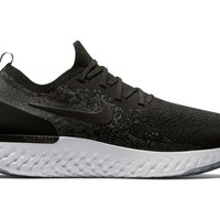 Nike Epic React Flyknit Running Shoes Black / Dark Grey AQ0067 001 Size 14