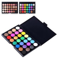 28 Colors Smoky Matte Eyeshadow Pallete Mixed Color Baking Powder Eye Shadow Palette Naked Nude Glitter Cosmetic Set Women Z3