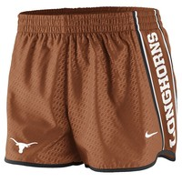 Nike Texas Longhorns Dri-FIT Mesh Pacer Shorts