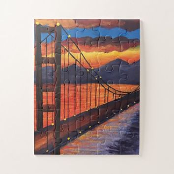 30 pieces Golden Gate bridge puzzle