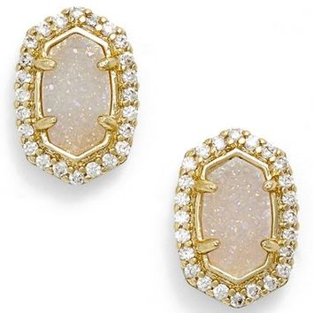 Kendra Scott 'Cade' Drusy Stud Earrings | Nordstrom
