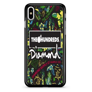 The Hundreds Diamond Supply Co iPhone X Case