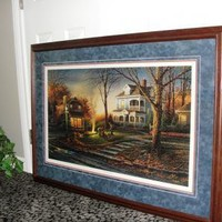 TERRY REDLIN AROMA OF FALL LIMITED EDITION FRAMED by texaseagle