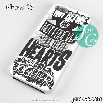 The Amity Affliction Quote Phone case for iPhone 4/4s/5/5c/5s/6/6 plus