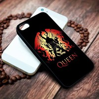 Freddie Mercury Queen Custom Iphone 4 4s 5 5s 5c 6 6plus 7 case / cases