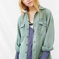 Vintage Destroyed Army Shirt - Urban Outfitters