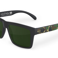 VISE Sunglasses: Woodland Camo Customs