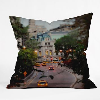 Chelsea Victoria New York At Night Throw Pillow