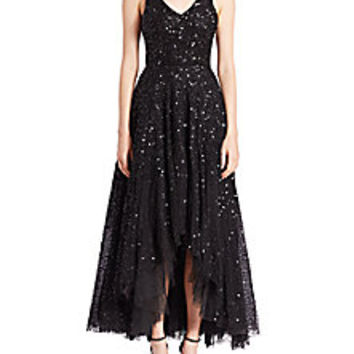 Parker Black - Opal Hi-Lo Gown - Saks Fifth Avenue Mobile