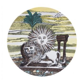 Pre-owned Fornasetti Plate from Tony Duquette Estate