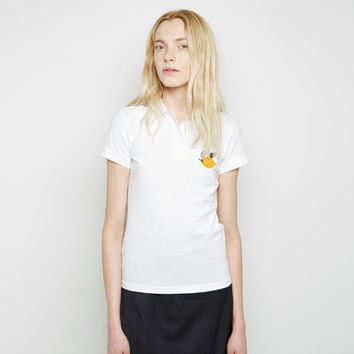 Embroidered Lemon Polo by J.W. Anderson
