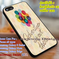 Adventure is Out There Up Quote iPhone 6s 6 6s+ 6plus Cases Samsung Galaxy s5 s6 Edge+ NOTE 5 4 3 #cartoon #disney #animated #up dL3