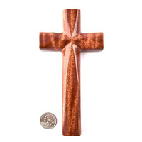 Wooden Cross Wall Decor, Wooden Wall Cross, Decorative Wall Hanging Cross, Wood Wall Cross, Christian Wall Decor, Hand Carved Wall Cross