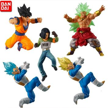BANDAI  Gashapon Battle VS Dragon Ball SUPER Set de 5 Figuras