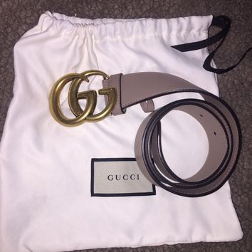 Womens Gucci Marmont belt GG size 70