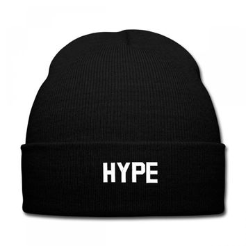HYPE EMBROIDERY Knit Cap