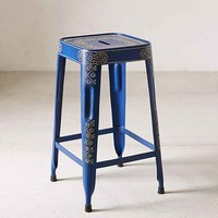 Magical Thinking Painted Industrial Stool-