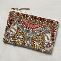 Chandelier Beaded Pouch by Anthropologie Bronze One Size Lighting