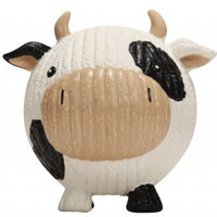 Hugglehounds Ruff-Tex Cow Knottie Dog Toy