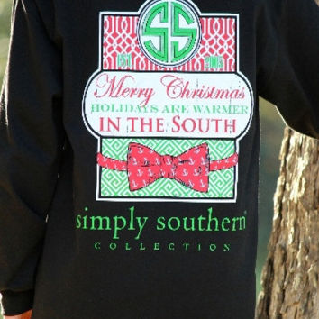 Simply Southern Holidays are Warmer in the South T-shirt
