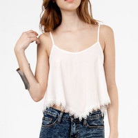 Vicky Trimmed Crop Tank $38
