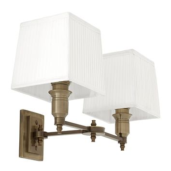 Double Gold Swing Wall Lamp | Eichholtz Lexington