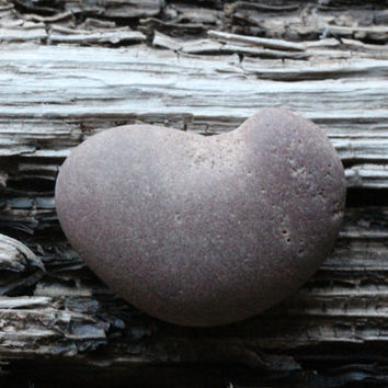 Beach Heart Sea Stone Heart Rock Heart