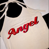 SWEET LORD O'MIGHTY! 100% ANGEL HALTER IN TAUPE