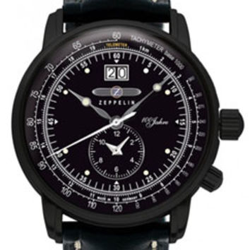 Graf Zeppelin 100 Years Dual Time Zone Watch 7638-2