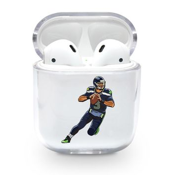 Seahawks Russell Wilson Airpods Case