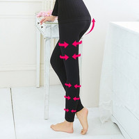 Extreme Warm High Waist Burn Fat Leg Slimming Body Shaper Pants = 1933029188