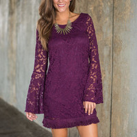 Luxe Love Dress, Purple