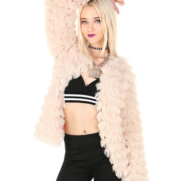 ALMOST FAMOUS FUR JACKET