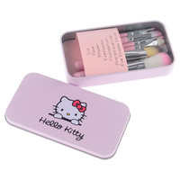 Hello Kitty 7 Pc Mini Makeup brush Set