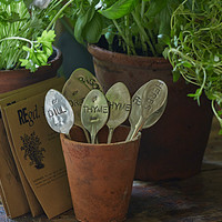 Spoon Herb Markers