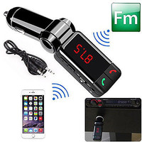 Car Kit MP3 Player Wireless Bluetooth FM Transmitter Radio With 2 USB Port