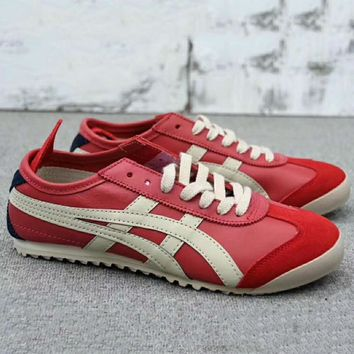 asics gel lyte onitsuka tiger women men running sport casual shoes sneakers red g a0 hxydxpf  number 1