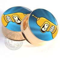Golden Bender - GOLD STEEL - Image Plugs - COLLECTORS - 1/20