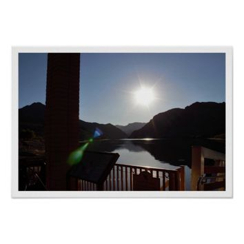 Sunlight on Colorado River Poster