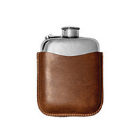 Leather Flask Case
