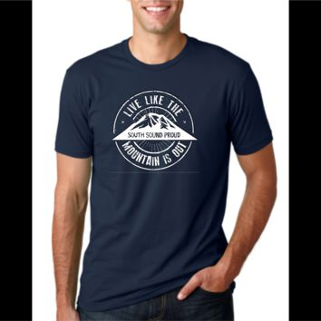Live Like the Mountain is Out T-Shirt