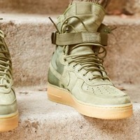 Nike Special Forces Air Force 1 High 859202-339 Boots Green
