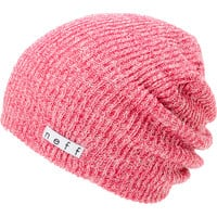 Neff Daily Heather Pink & White Beanie  at Zumiez : PDP
