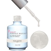 LeChat Perfect Match Gel / Lacquer Combo - Pearl Martini 0.5 oz - #PMS16