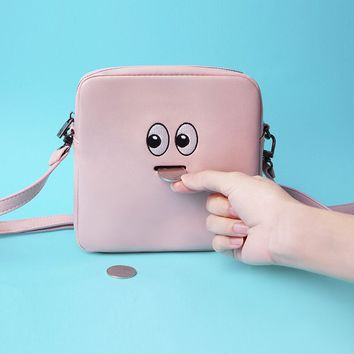 Xaoye Emoji Eye Crossbody Bag