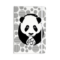 "KESS Original ""Panda"" Everything Notebook"