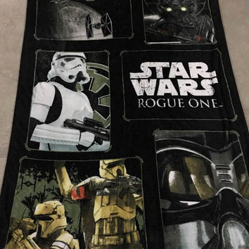 NEW Star Wars Blanket Manta Fleece Blanket Throws on Sofa / Bed / Plane Travel Plaids Hot Limited
